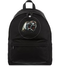 Givenchy Twin Monkey Backpack Black