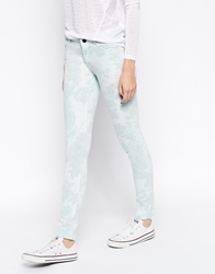 Ganni Skinny Jeans Sproutgreen