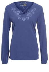 Craghoppers Zanta Long Sleeved Top Dusk Blue