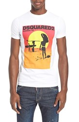 Men's Dsquared2 'Summer' Graphic T Shirt