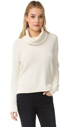 Madewell Emma Textured Turtleneck Bright Ivory