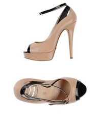 Del Gatto Pumps Sand