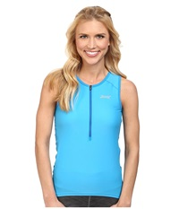 Zoot Sports Active Tri Mesh Tank Maliblue Women's Clothing