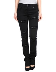 Roccobarocco Denim Pants Black