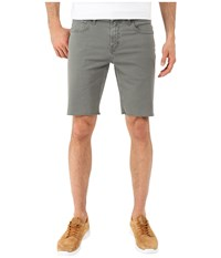 J Brand Tyler Slim Cut Off Shorts Sedona Sage Men's Shorts Gray