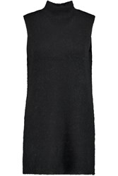 Elizabeth And James Ribbed Knit Tunic Black