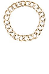 House Of Harlow The Ra Chain Necklace Metallic Gold
