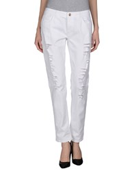Blugirl Jeans Denim Denim Trousers Women White