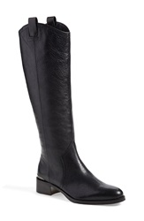 Louise Et Cie 'Zada' Knee High Leather Riding Boot Women Wide Calf Nordstrom Exclusive Black Leather