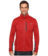 The North Face Canyonlands Full Zip Sweatshirt Cardinal Red Men's Coat