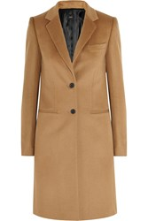 Joseph Man Wool And Cashmere Blend Coat Camel