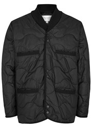 Public School Raebur Black Quilted Shell Jacket