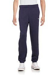 Puma Elastic Waist Pull On Pants Navy