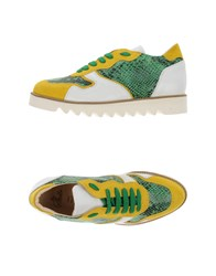 Le Stelle Footwear Low Tops And Trainers Women Yellow