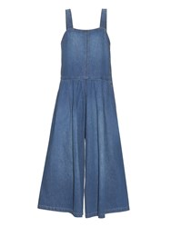 Rachel Comey Costello Wide Leg Denim Jumpsuit