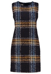 Hobbs Briony Summer Dress Navy Dark Blue