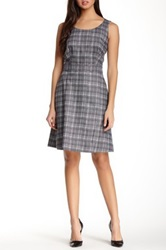 Hugo Boss Harisa Jacquard Print Dress Black