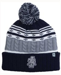 Top Of The World North Carolina A And T Aggies Altitude Knit Hat Gray White Navy