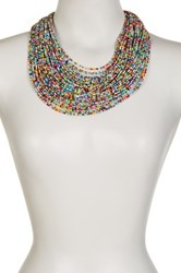 Eye Candy Los Angeles Sparkly Multi String Necklace