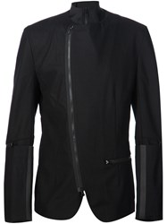 Y 3 Zipped Blazer Black