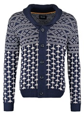 Only And Sons Onskalvin Cardigan Night Sky Dark Blue