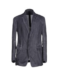 Forme D'expression Suits And Jackets Blazers Men Steel Grey