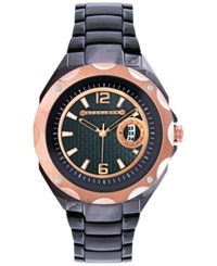 Sean John Men's Gunmetal Tone Bracelet Watch 52X45mm 10018038