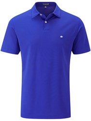 Peter Millar Sold Performance Mesh Polo Blue
