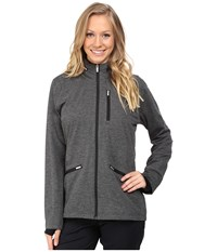 Adidas Climaproof Softshell Jacket Black Heather Women's Coat