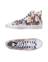 Gienchi Footwear High Tops And Trainers Men Purple