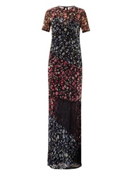 Preen Elli Forget Me Not Print Maxi Dress