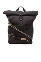 3.1 Phillip Lim Alpine Roll Top Backpack In Black
