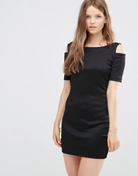 Jdy Cold Shoulder Dress Black