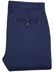 Ted Baker Sorcor Slim Fit Cotton Chinos Blue