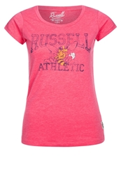 Russell Athletic Print Tshirt Rosa Rose