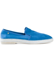 Rivieras Slip On Sneakers Blue