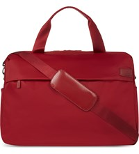 Lipault City Plume Duffle Bag Ruby