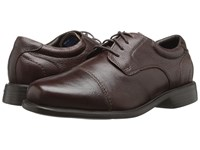 Florsheim Freedom Cap Ox Brown Milled Men's Lace Up Cap Toe Shoes