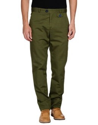 Oliver Spencer Casual Pants Military Green