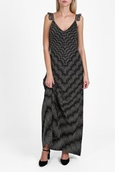 Missoni Zigzag Lame Cami Strap Dress Bronze