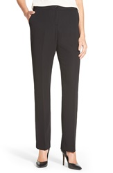 Ivanka Trump Straight Leg Pants Black