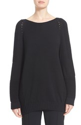 Women's Belstaff 'Kassidy' V Back Merino Wool Blend Sweater
