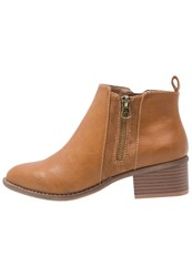 Anna Field Ankle Boots Nut Cognac