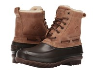 Sperry Decoy Shearling Boot Tan Men's Lace Up Boots