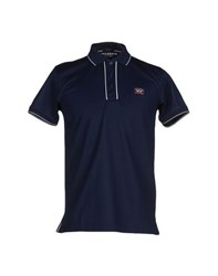 Paul And Shark Topwear Polo Shirts Men Dark Blue