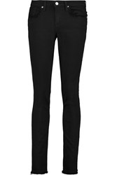 Helmut Lang Mid Rise Skinny Jeans