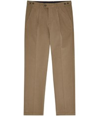 Austin Reed Regular Fit Wrinkle Free Tobacco Chinos Neutral