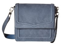 Rebecca Minkoff North South Messenger Dusty Blue Messenger Bags
