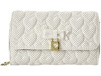 Betsey Johnson Always Be Mine Wallet On A String White Wallet Handbags