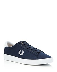 Fred Perry Spencer Lace Up Sneakers Navy
